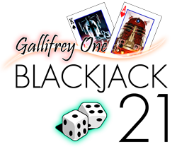 gallifrey one blackjack 21 logo