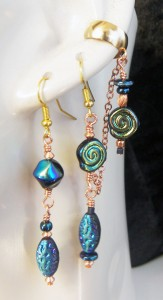 Asymmetrical-Midnight-Spiral-earcuff-and-earring-set-163x300