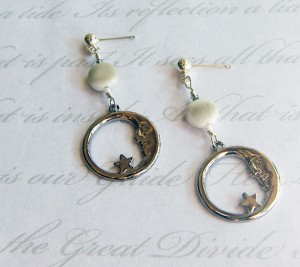 Crescent-Moon-with-Simulated-Moonstone-earrings-300x267