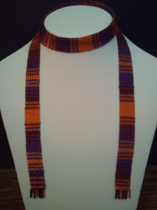 KC Dragonfly - 4th and 5th Doctor scarf lariat necklace