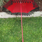 KC Dragonfly - Red Flapper Black Fringe - interior
