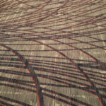 new LAX Marriott carpet - fugly design 1