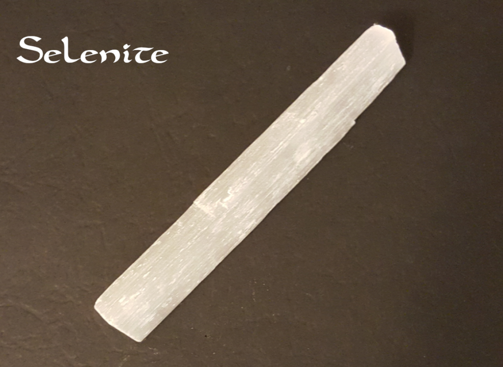 Selenite - photography by KC Dragonfly