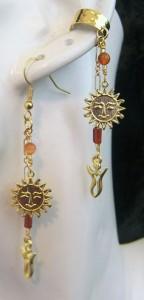 Carnelian-Healing-Sun-Goddess-earcuff-and-earring-set-reduced-144x300