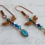 Dragonfly Priestess earrings by KCDragonfly 300×202