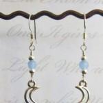 Silver Pale Moon earrings by KCDragonfly 208×300