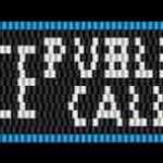 T is for Tardis – Police Public Call Box peyote stitch bracelet