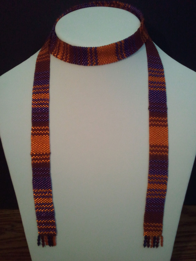 KC Dragonfly - 5th Doctor's scarf lariat necklace