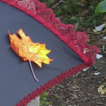 KC Dragonfly - Autumn Leaves Parasol - detail