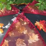 KC Dragonfly – Autumn Leaves Parasol-top-detail