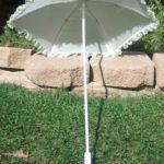 KC Dragonfly – Wedding Basic Off White parasol – top – interior