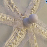 KC Dragonfly – Wedding Basic Off White parasol – top – top center