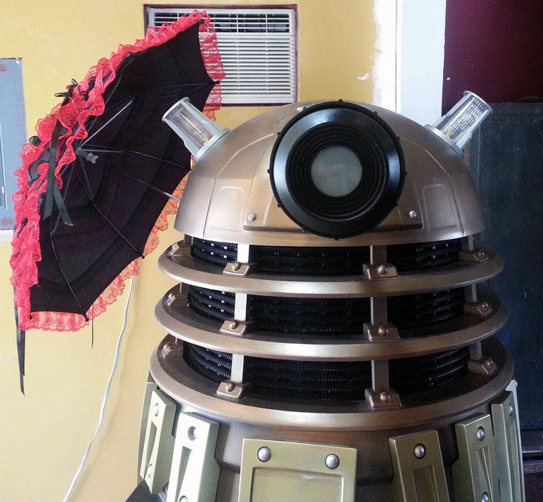 Parasol Dalek by KCDragonFly