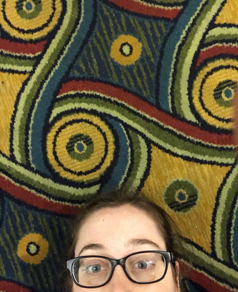 fan on lax marriott carpet from kc dragonfly