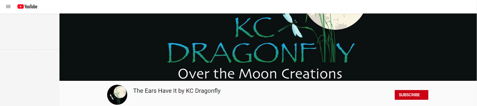 kc dragonfly youtube channel logo