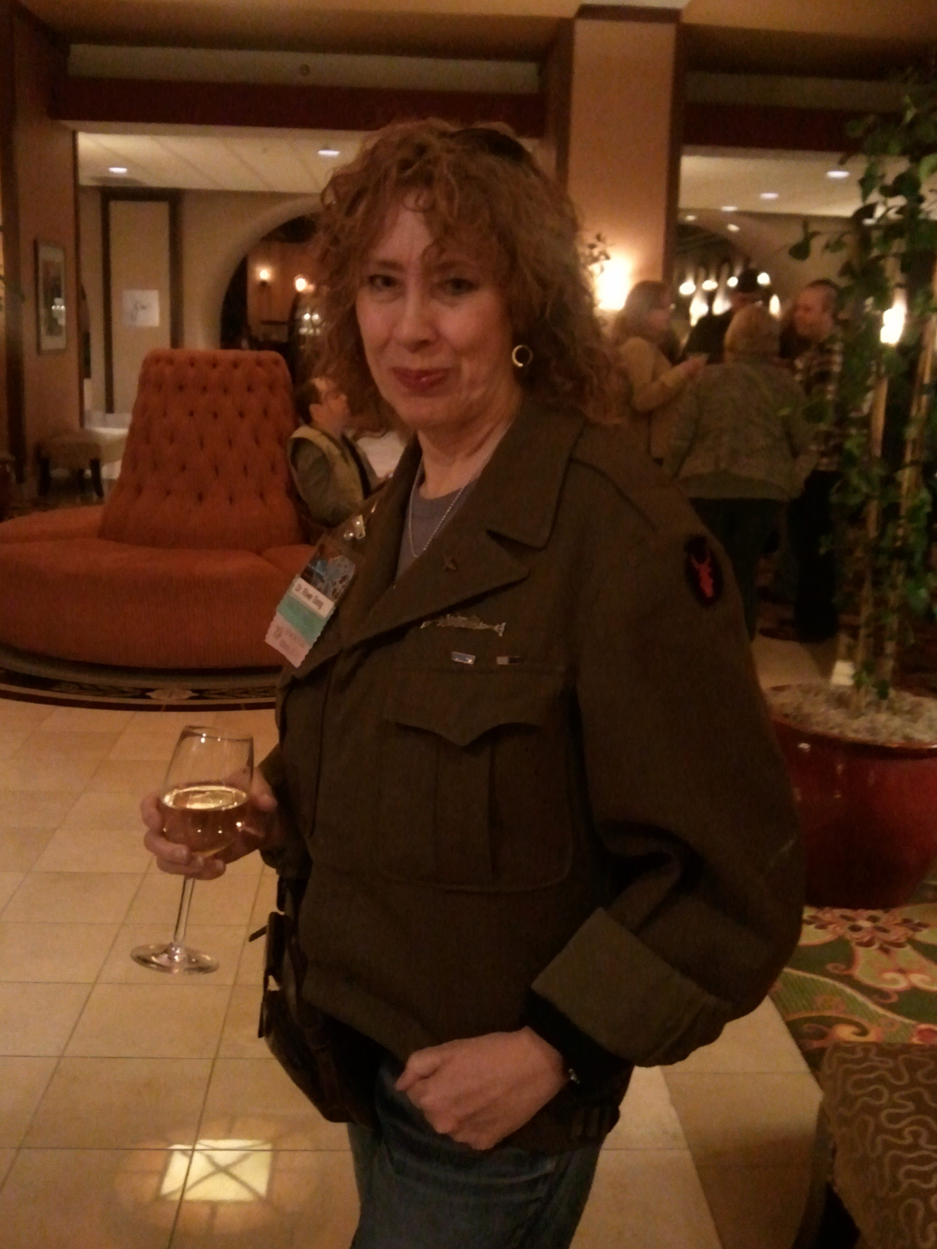 River Song drinks