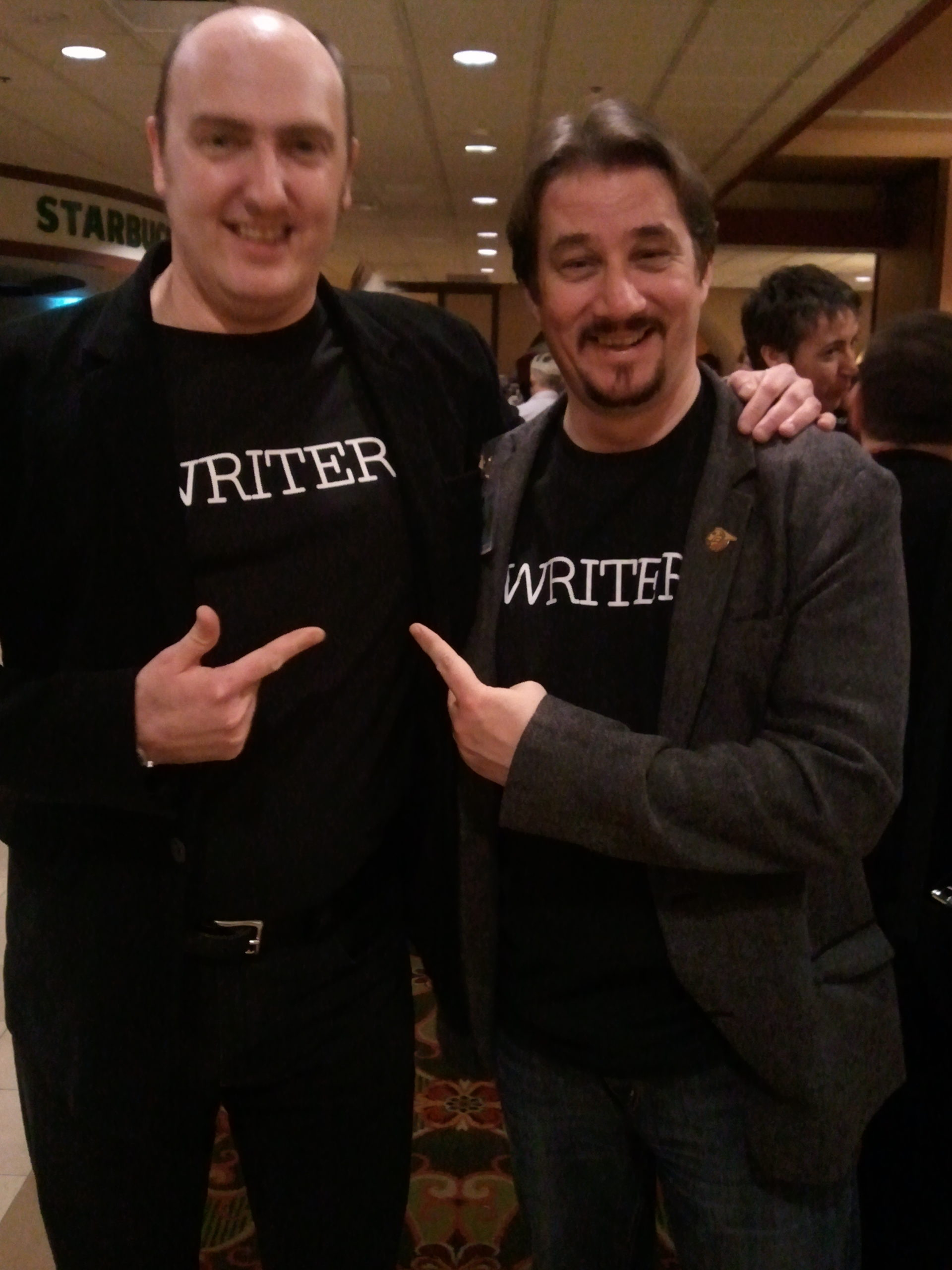 friendly drunk doctor who writers
