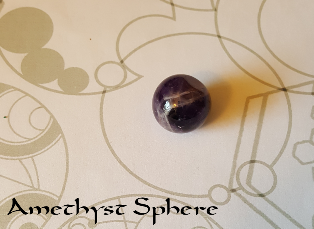 Amethyst Sphere - photography by KC Dragonfly