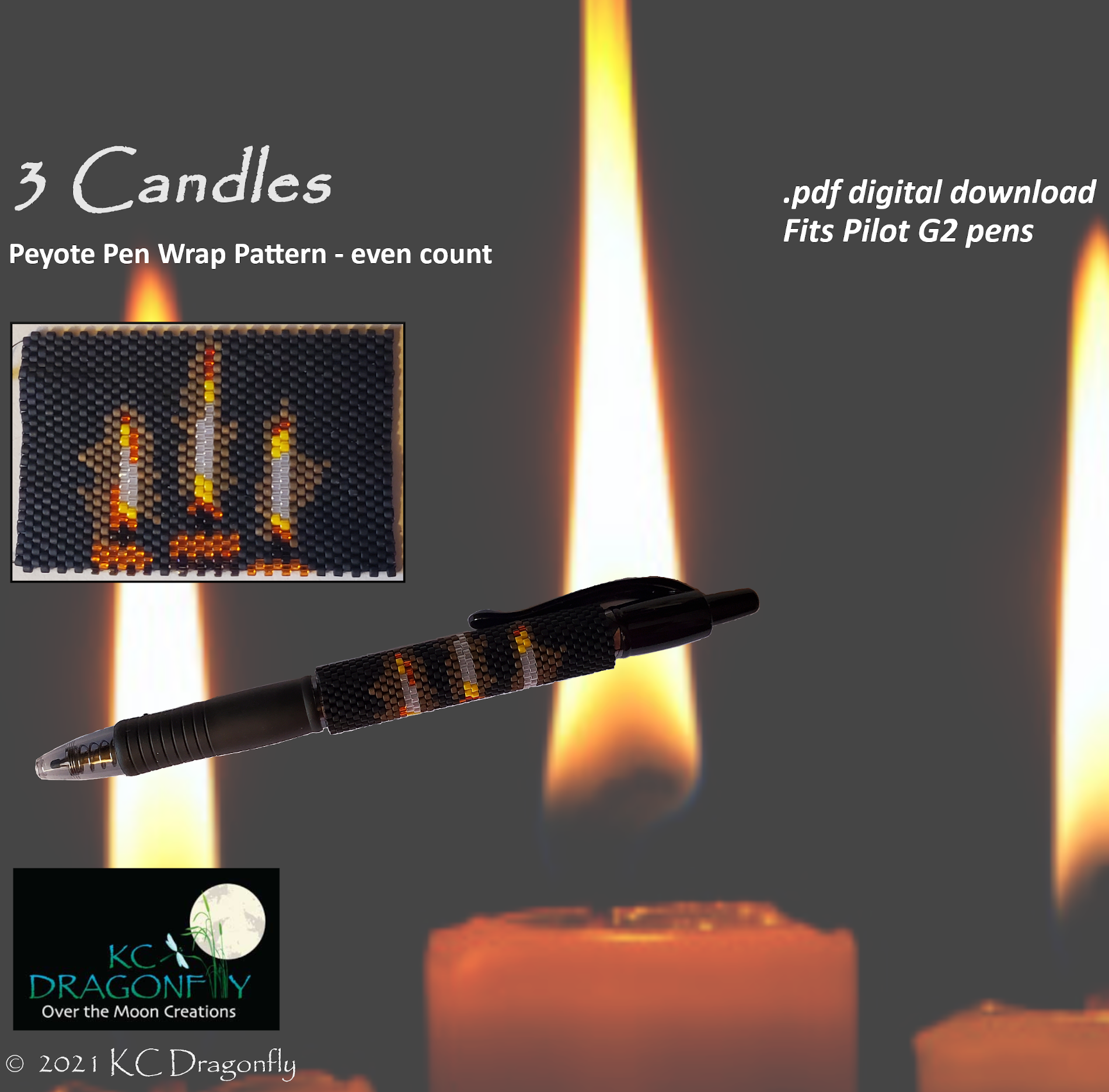 KC dragonfly - Etsy Listing - 3 candles