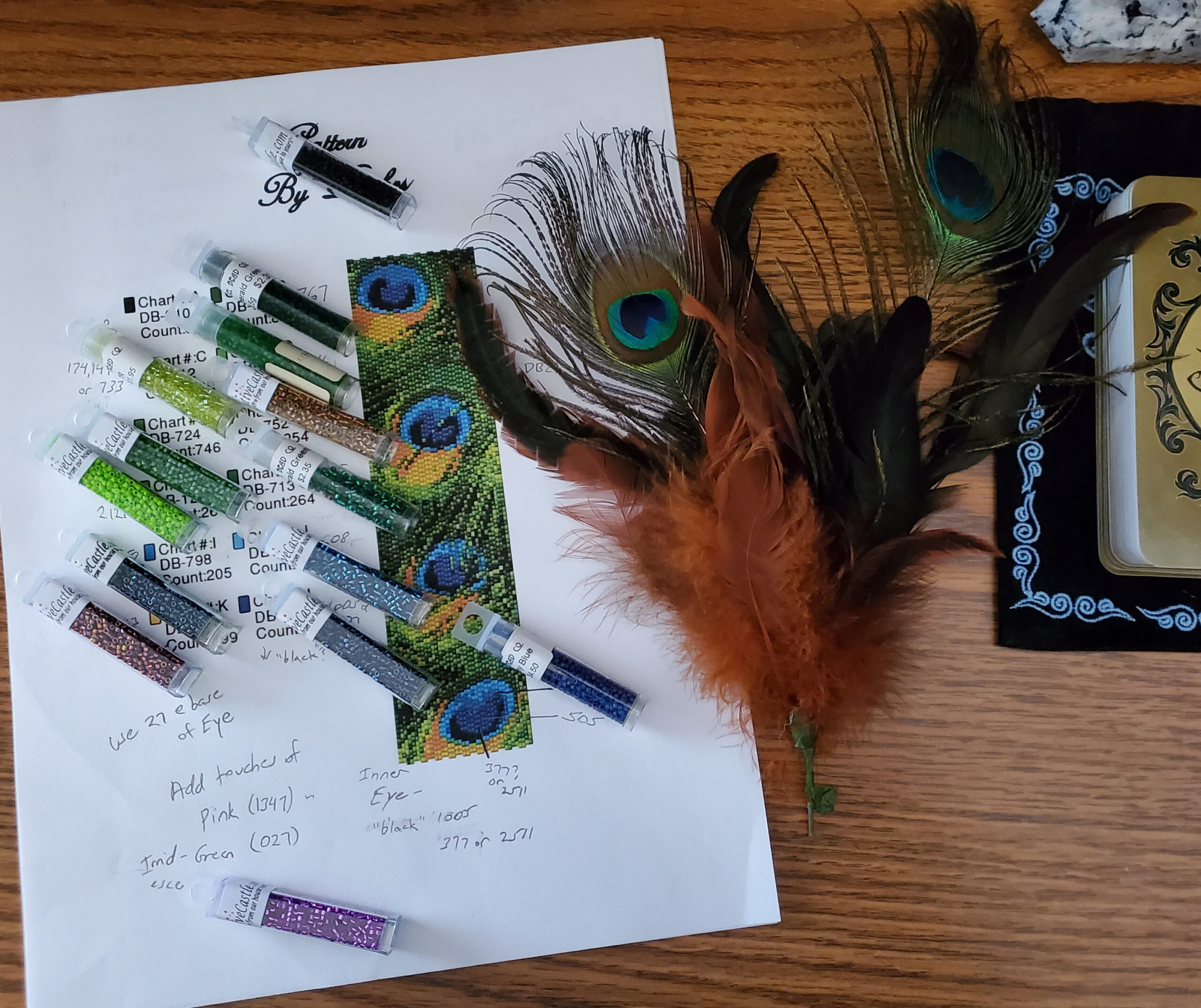 Chaos in the Bead Cave – How to Modify Colors in an Existing Pattern