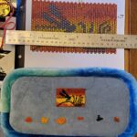KC Dragonfly – Pen Wrap – Dragonfly Sunset WIP