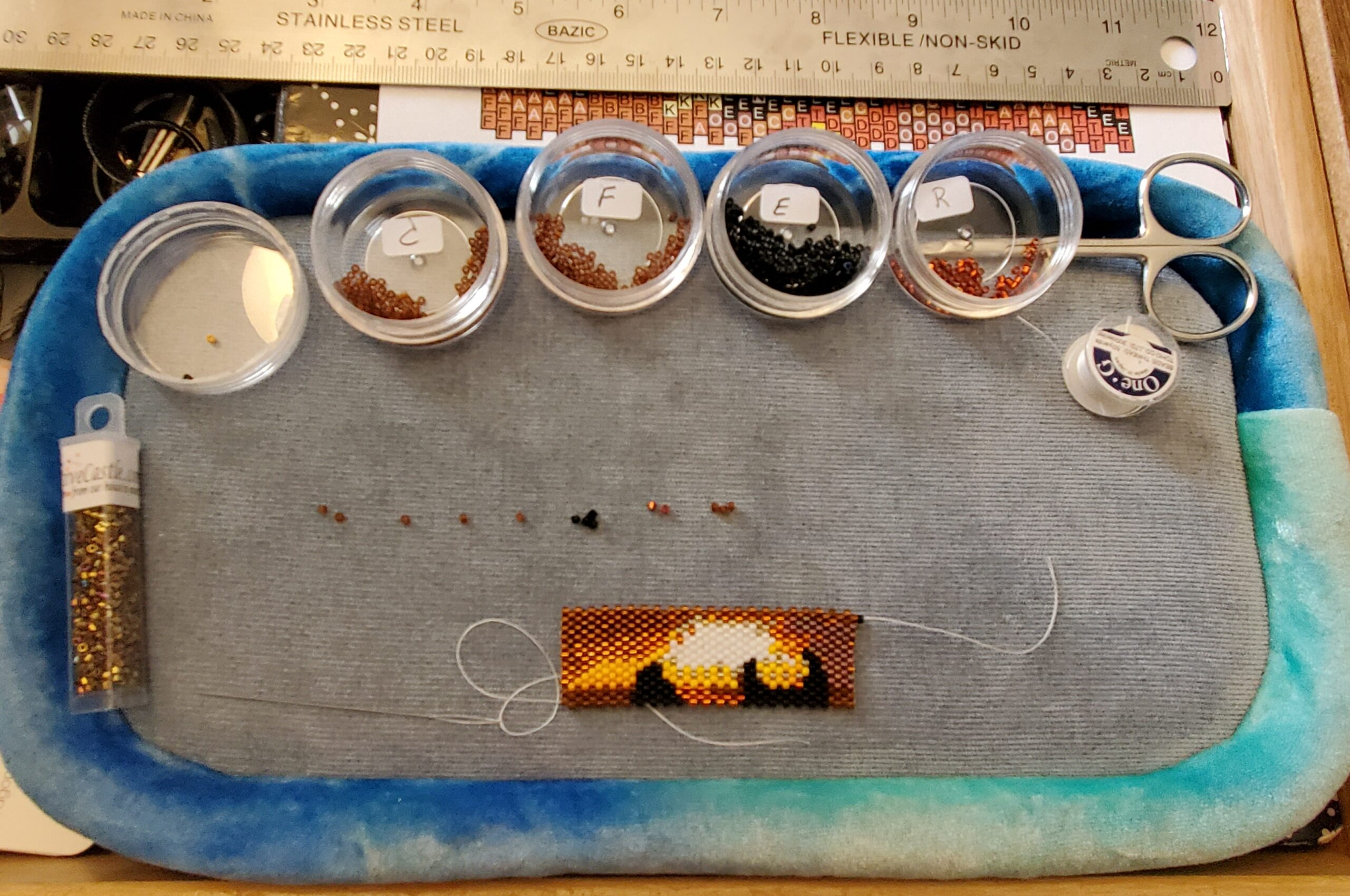 WIP Wednesday – Another Sunset Wrap – 8/18/21